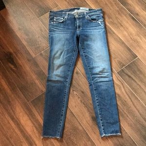 AG jeans - size 29, super skinny ankle